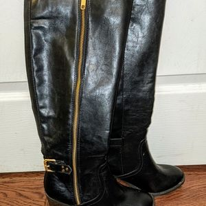 Brand New Black Boots - Women's Size 6.5